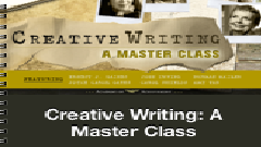 Creative Writing: A Master Class