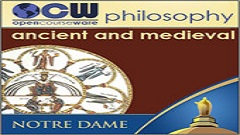 Ancient and Medieval Philosophy